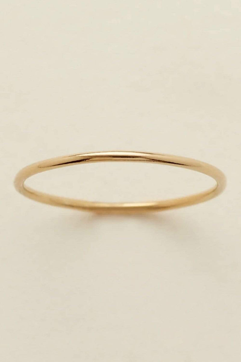 Clad and Cloth, Made By Mary Round Stacking Ring, Made By Mary, Accessory.