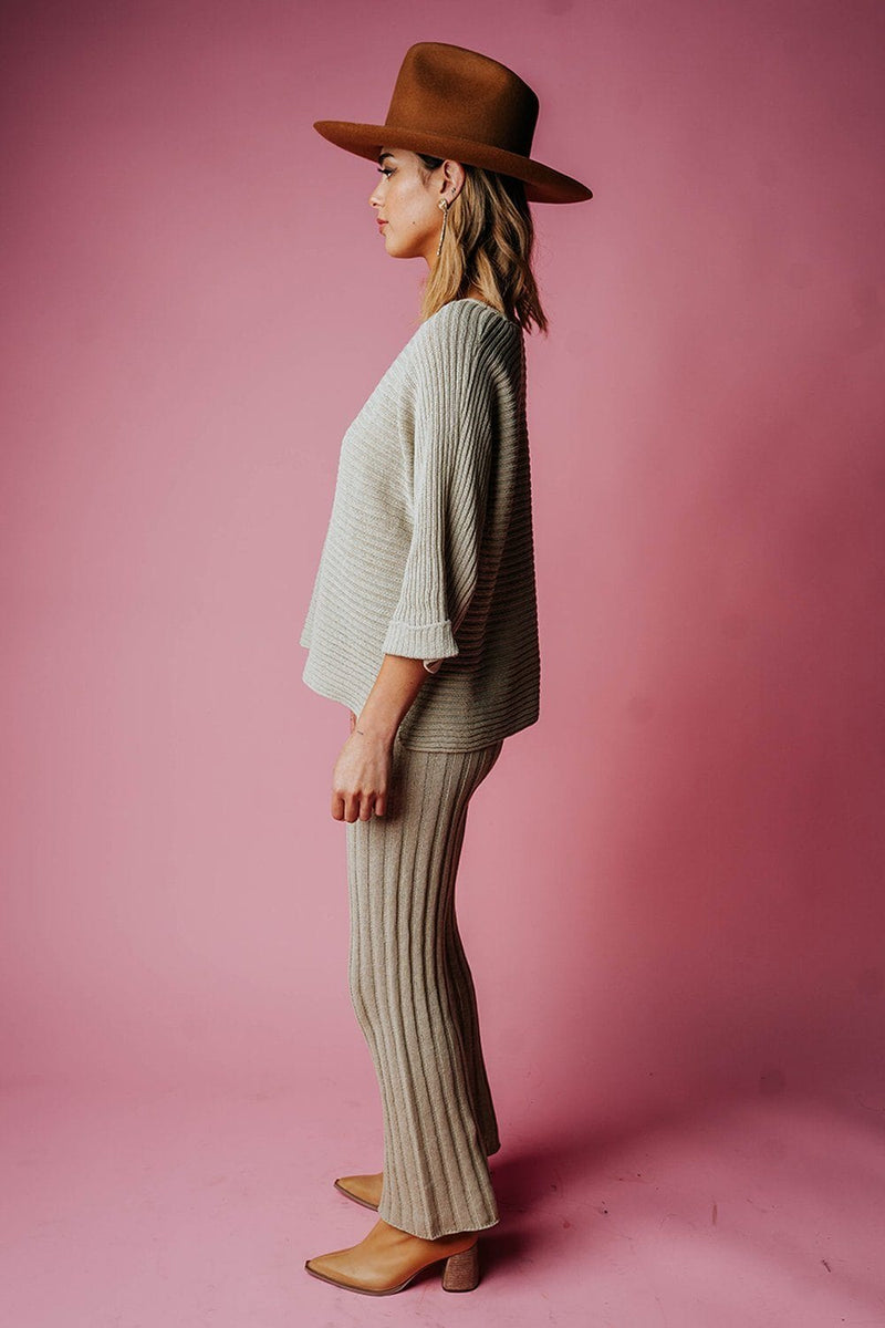 Clad and Cloth, The Brooke Pant in Pistachio, By Together, Bottom.