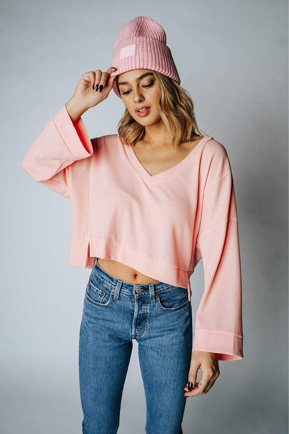 The Charades Top in Pink Top hyfve Clad and Cloth