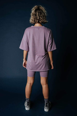 The Olivia Set in Dusty Plum, cladandcloth, Before You.
