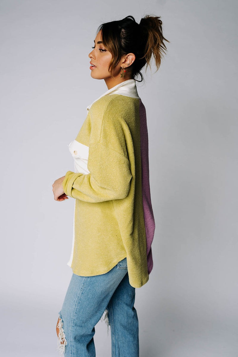 Two Faced Colorblock Top