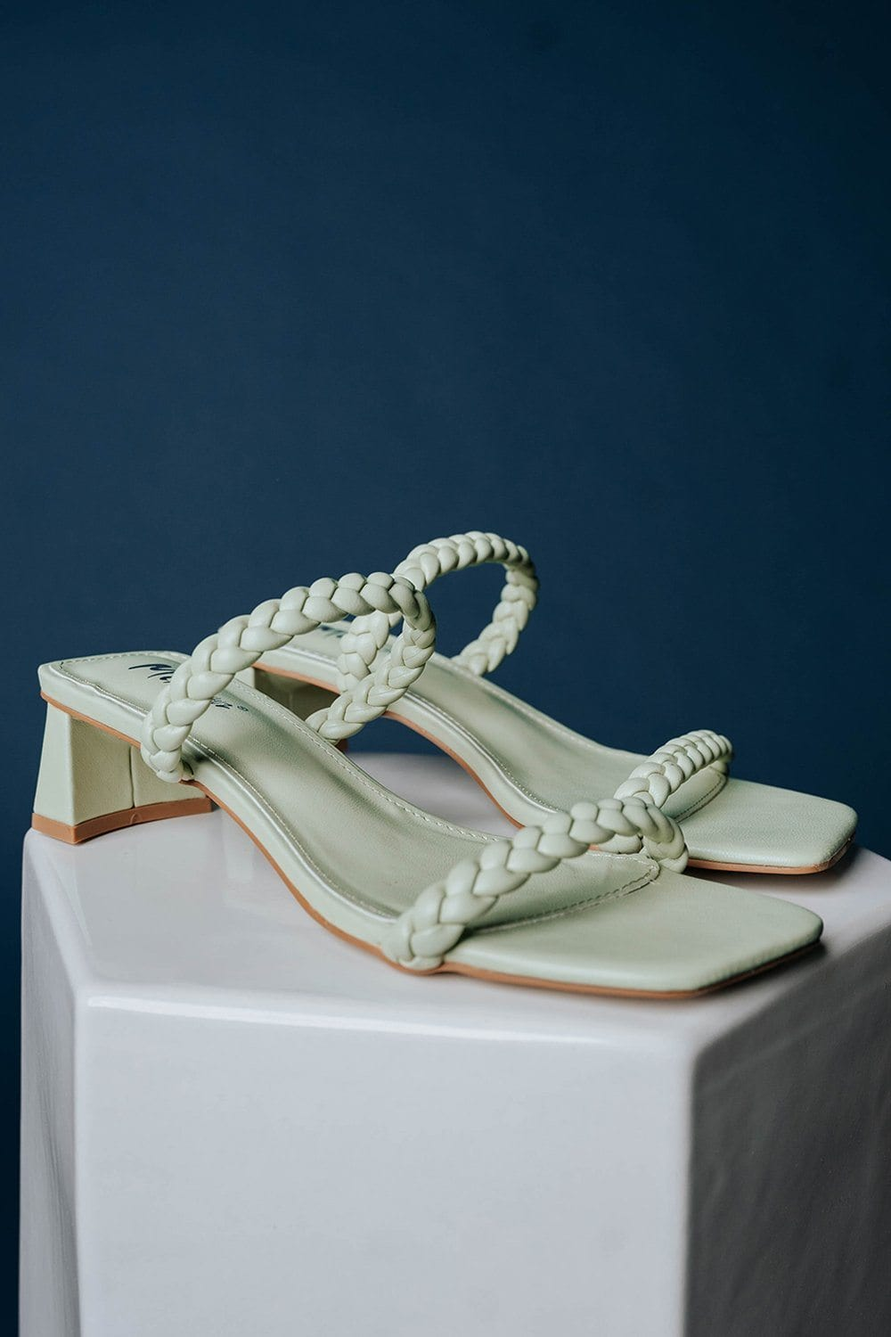 Walk in Rome Heels in Lime, cladandcloth, n/a.