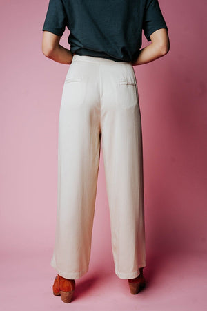 Welcome to New York Pant in Beige, cladandcloth, n/a.