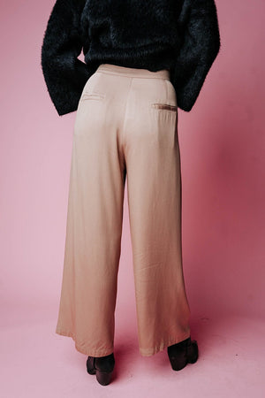 Welcome to New York Pant in Camel, cladandcloth, n/a.