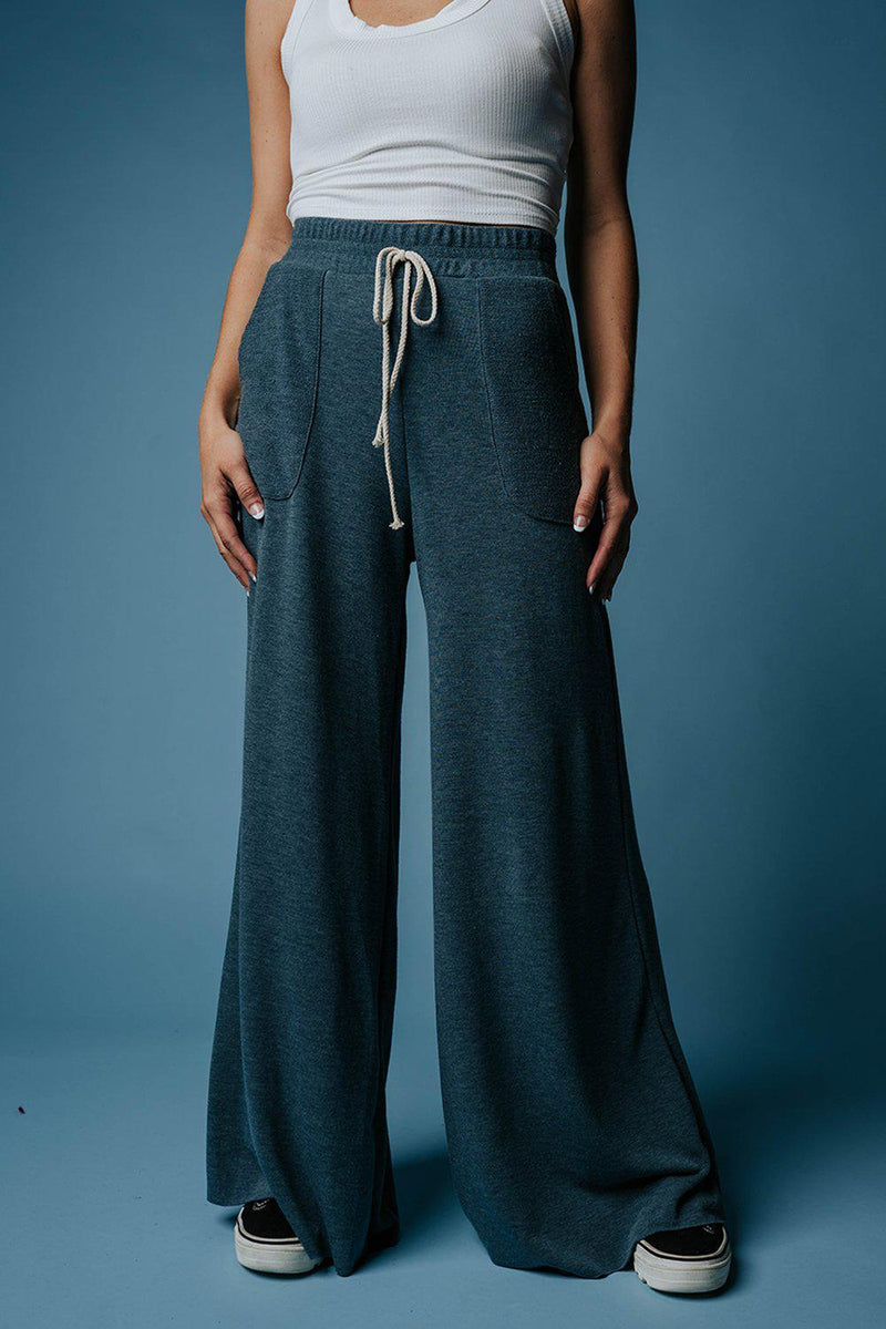 Clad and Cloth, All Night Long Wide Leg Pants, Clad & Cloth, Bottom.