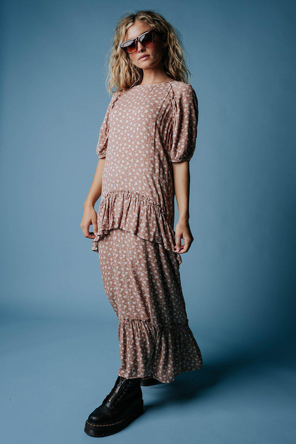 All That Matters Floral Maxi Dress-Dress-n/a-S-Clad & Cloth
