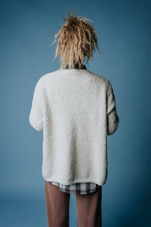 Clad and Cloth, Amber Alley Sweater in Cream, hyfve, Top.