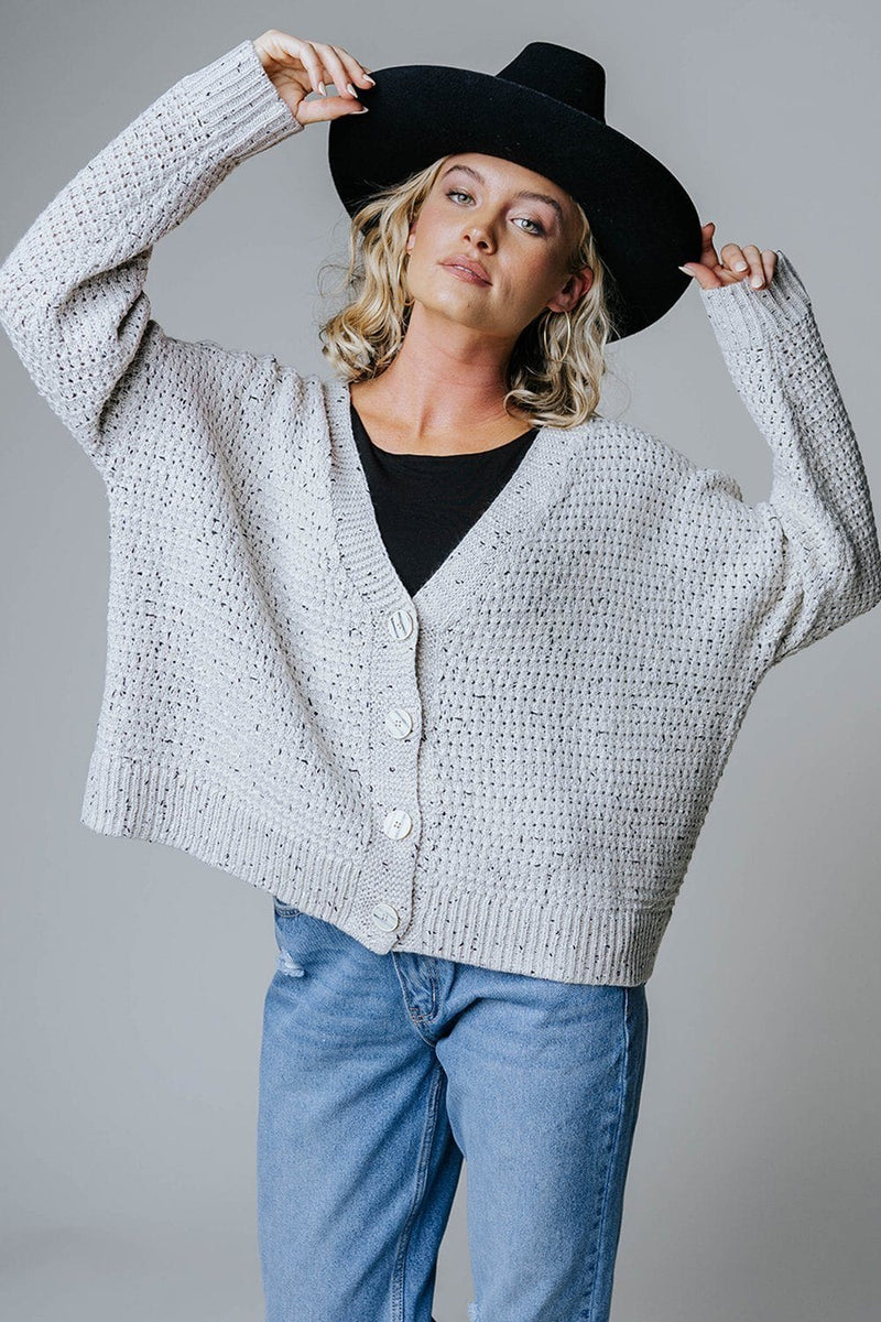 Big & Chunky Knit Cardigan-Top-n/a-S/M-Clad & Cloth