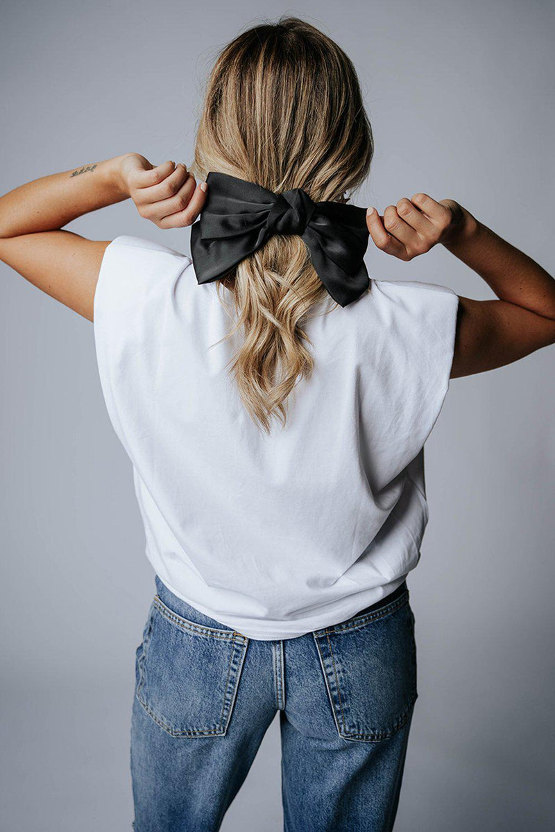 best_seller, Bows Over Bros in Black, Accessory, women's clothing, dresses, skirts, coats, jackets, shoes, boots, tops, tee shirts, jeans, free people, levi's, rollas, jumpsuits, bottoms, tops, sweaters, pullovers, pants, shorts, sweats,.