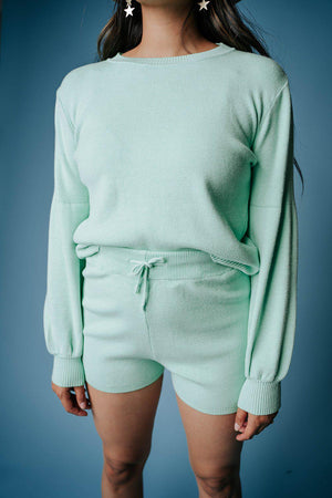 best_seller, Buttercup Powderpuff Girl in Mint - FINAL SALE, Bottom, women's clothing, dresses, skirts, coats, jackets, shoes, boots, tops, tee shirts, jeans, free people, levi's, rollas, jumpsuits, bottoms, tops, sweaters, pullovers, pants, shorts, sweats,.