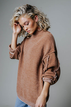 Clad and Cloth, Call Me Cozy Sweater, Zenana, Top.