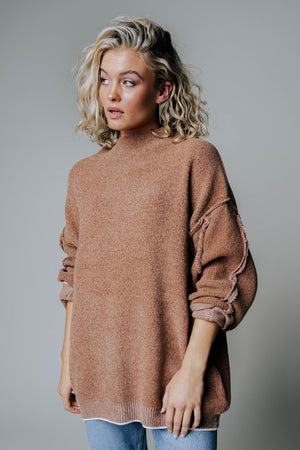 Call Me Cozy Sweater-Top-Zenana-S-Clad & Cloth