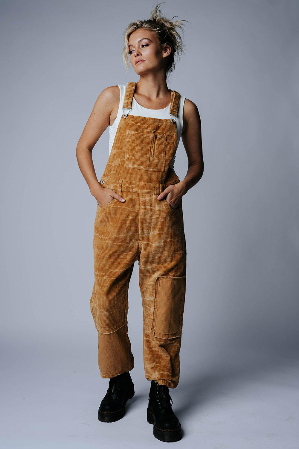 best_seller, Can't See Me Overalls in Caramel Combo, Bottom, women's clothing, dresses, skirts, coats, jackets, shoes, boots, tops, tee shirts, jeans, free people, levi's, rollas, jumpsuits, bottoms, tops, sweaters, pullovers, pants, shorts, sweats,.