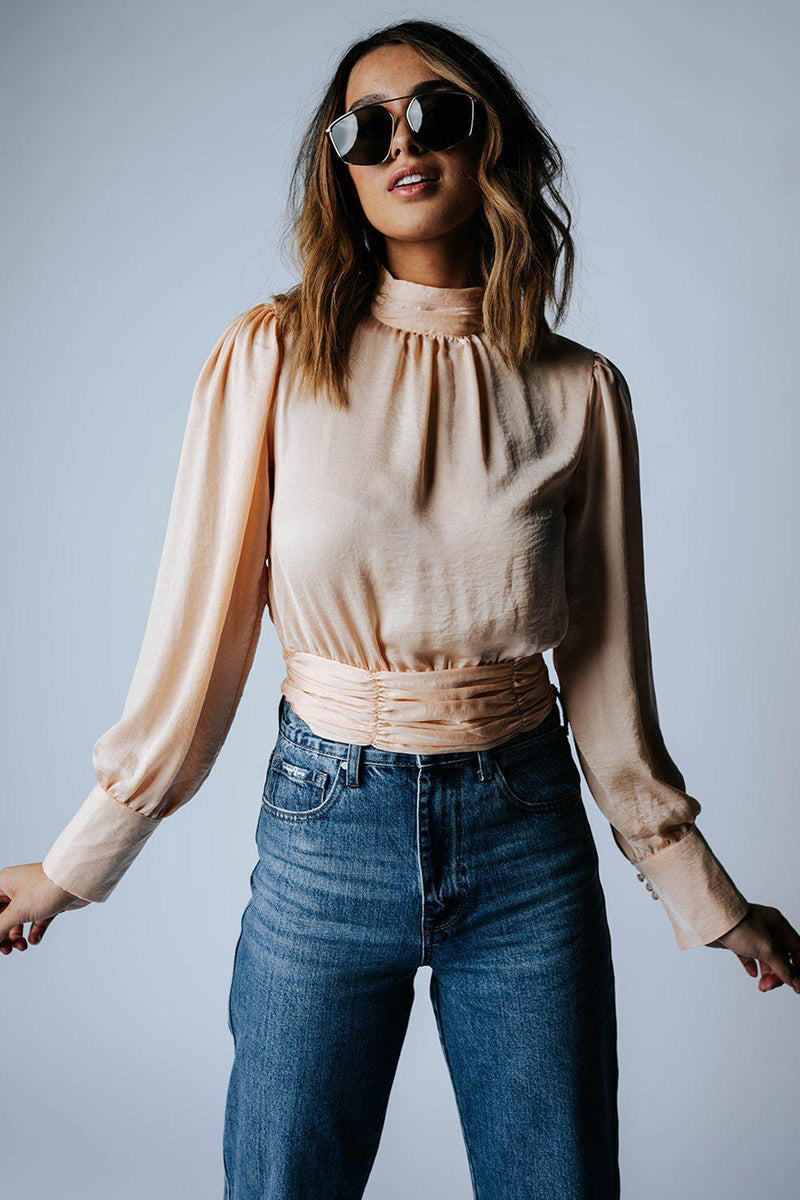 best_seller, Crazy in Love Top in Champagne, Top, women's clothing, dresses, skirts, coats, jackets, shoes, boots, tops, tee shirts, jeans, free people, levi's, rollas, jumpsuits, bottoms, tops, sweaters, pullovers, pants, shorts, sweats,.