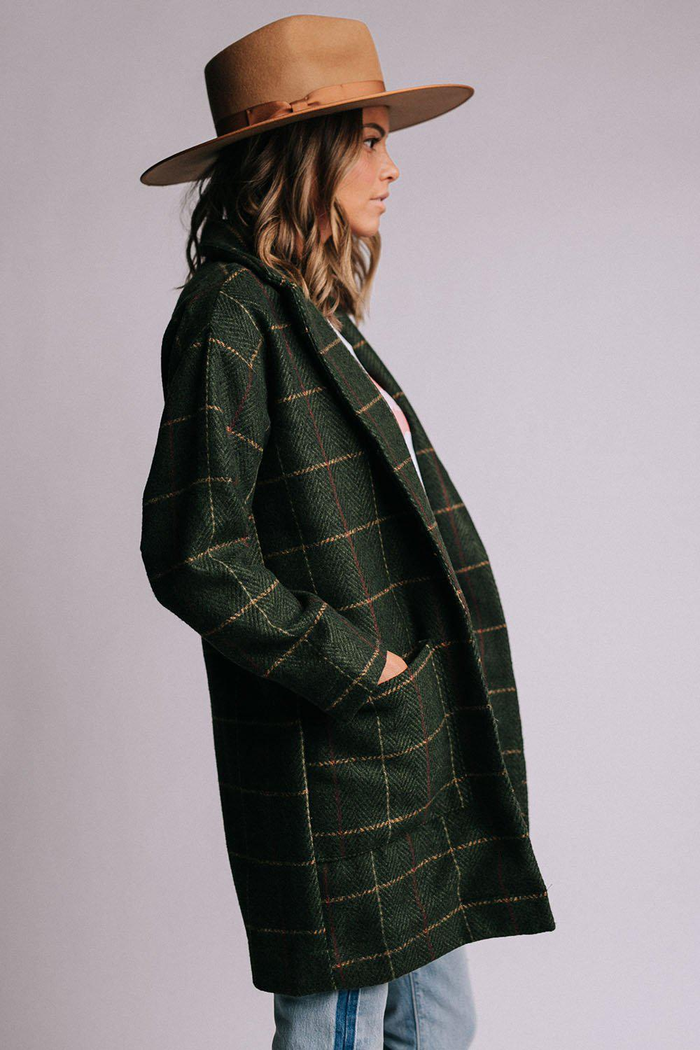 best_seller, Dani Coat in Green, Top, women's clothing, dresses, skirts, coats, jackets, shoes, boots, tops, tee shirts, jeans, free people, levi's, rollas, jumpsuits, bottoms, tops, sweaters, pullovers, pants, shorts, sweats,.