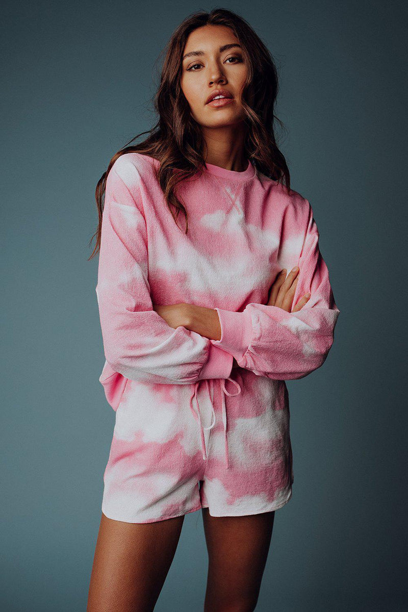 best_seller, Daydreams Tie Dye Set in Mauve, Set, women's clothing, dresses, skirts, coats, jackets, shoes, boots, tops, tee shirts, jeans, free people, levi's, rollas, jumpsuits, bottoms, tops, sweaters, pullovers, pants, shorts, sweats,.