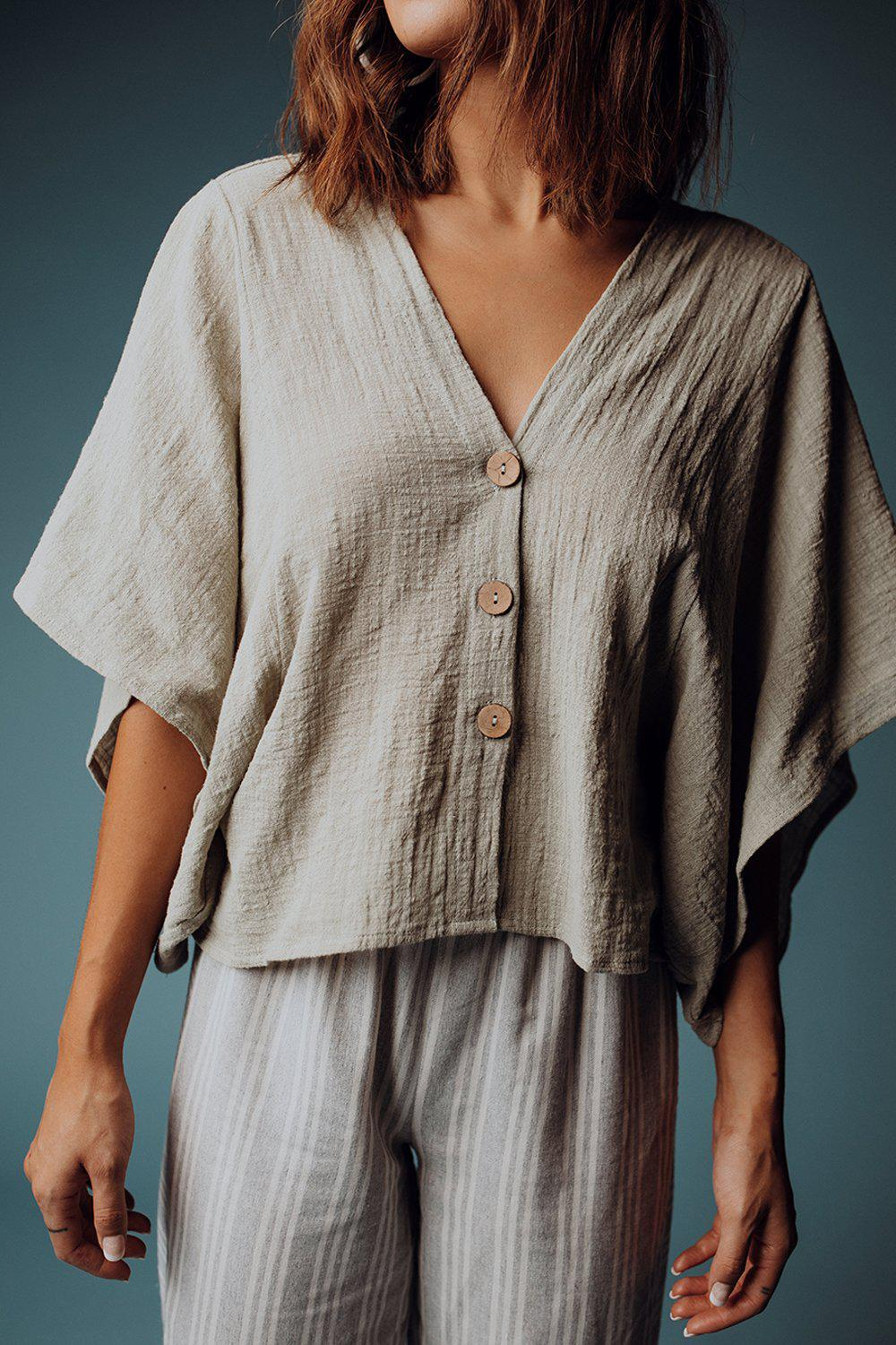 best_seller, Dylan Slouchy Top in Sage, Top, women's clothing, dresses, skirts, coats, jackets, shoes, boots, tops, tee shirts, jeans, free people, levi's, rollas, jumpsuits, bottoms, tops, sweaters, pullovers, pants, shorts, sweats,.