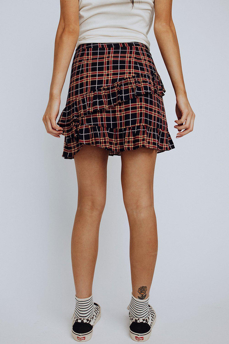 best_seller, Emery Plaid Skirt - FINAL SALE, Skirt, women's clothing, dresses, skirts, coats, jackets, shoes, boots, tops, tee shirts, jeans, free people, levi's, rollas, jumpsuits, bottoms, tops, sweaters, pullovers, pants, shorts, sweats,.