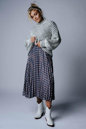 best_seller, Emmie Plaid Pleated Midi Skirt, Skirt, women's clothing, dresses, skirts, coats, jackets, shoes, boots, tops, tee shirts, jeans, free people, levi's, rollas, jumpsuits, bottoms, tops, sweaters, pullovers, pants, shorts, sweats,.