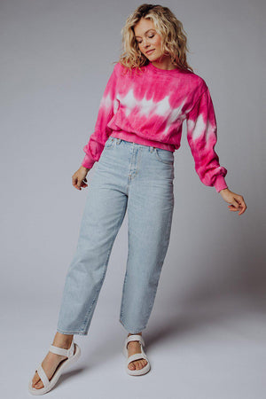 best_seller, Freaky Friday Tie Dye Pullover - FINAL SALE, Top, women's clothing, dresses, skirts, coats, jackets, shoes, boots, tops, tee shirts, jeans, free people, levi's, rollas, jumpsuits, bottoms, tops, sweaters, pullovers, pants, shorts, sweats,.