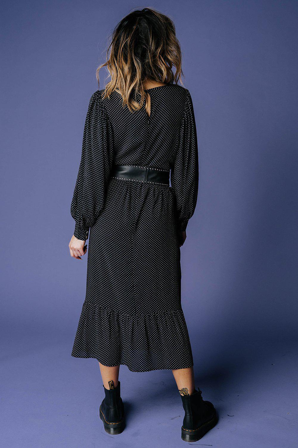 Free Fall Midi Dress-Dress-MOVINT-XS-Clad & Cloth