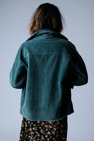 best_seller, Good Fortunes Corduroy Jacket in Sage, Top, women's clothing, dresses, skirts, coats, jackets, shoes, boots, tops, tee shirts, jeans, free people, levi's, rollas, jumpsuits, bottoms, tops, sweaters, pullovers, pants, shorts, sweats,.