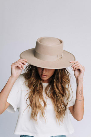 best_seller, Honey Honey Hat in Beige - FINAL SALE, Accessory, women's clothing, dresses, skirts, coats, jackets, shoes, boots, tops, tee shirts, jeans, free people, levi's, rollas, jumpsuits, bottoms, tops, sweaters, pullovers, pants, shorts, sweats,.