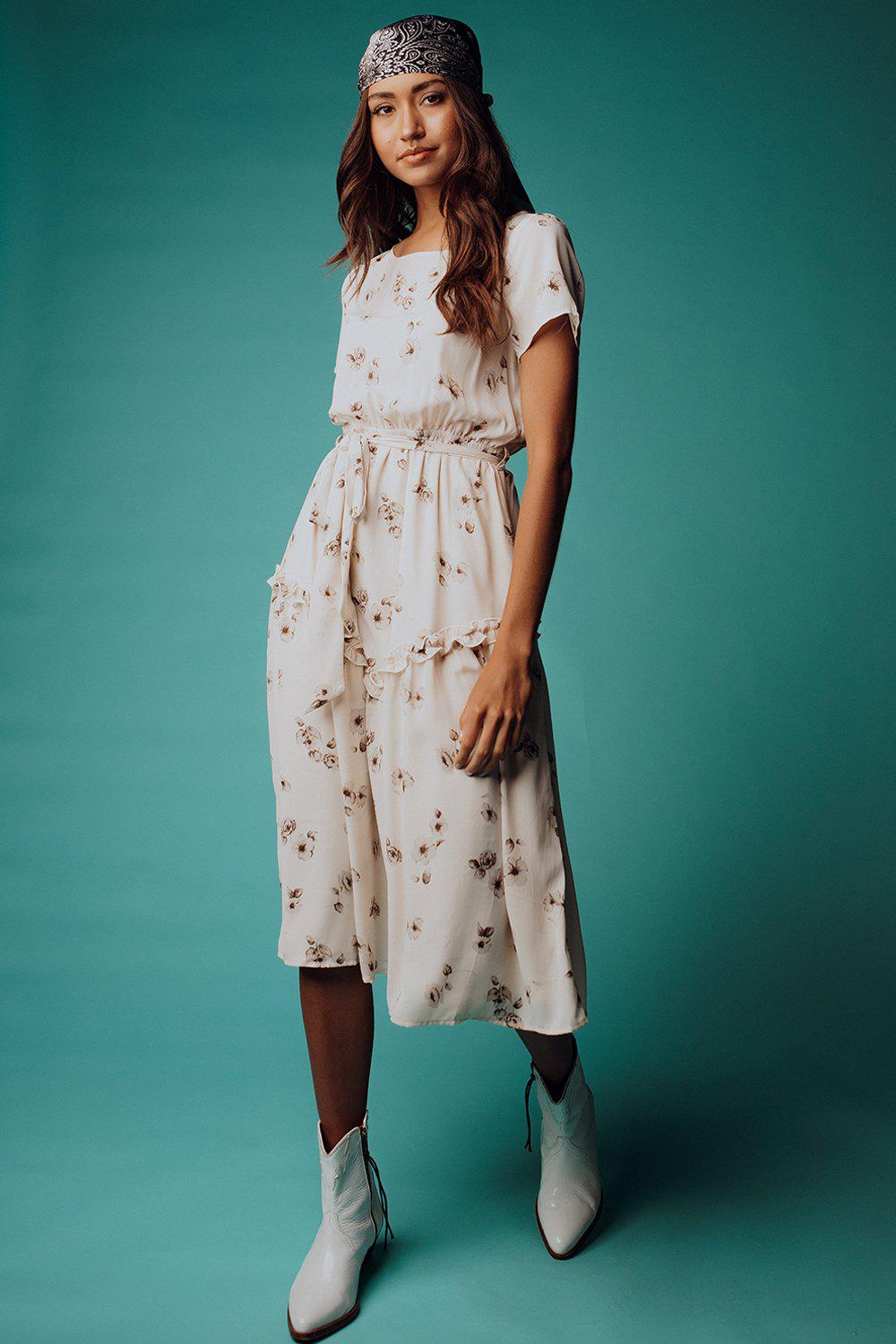 best_seller, I'm Almost There Floral Midi Dress, Dress, women's clothing, dresses, skirts, coats, jackets, shoes, boots, tops, tee shirts, jeans, free people, levi's, rollas, jumpsuits, bottoms, tops, sweaters, pullovers, pants, shorts, sweats,.