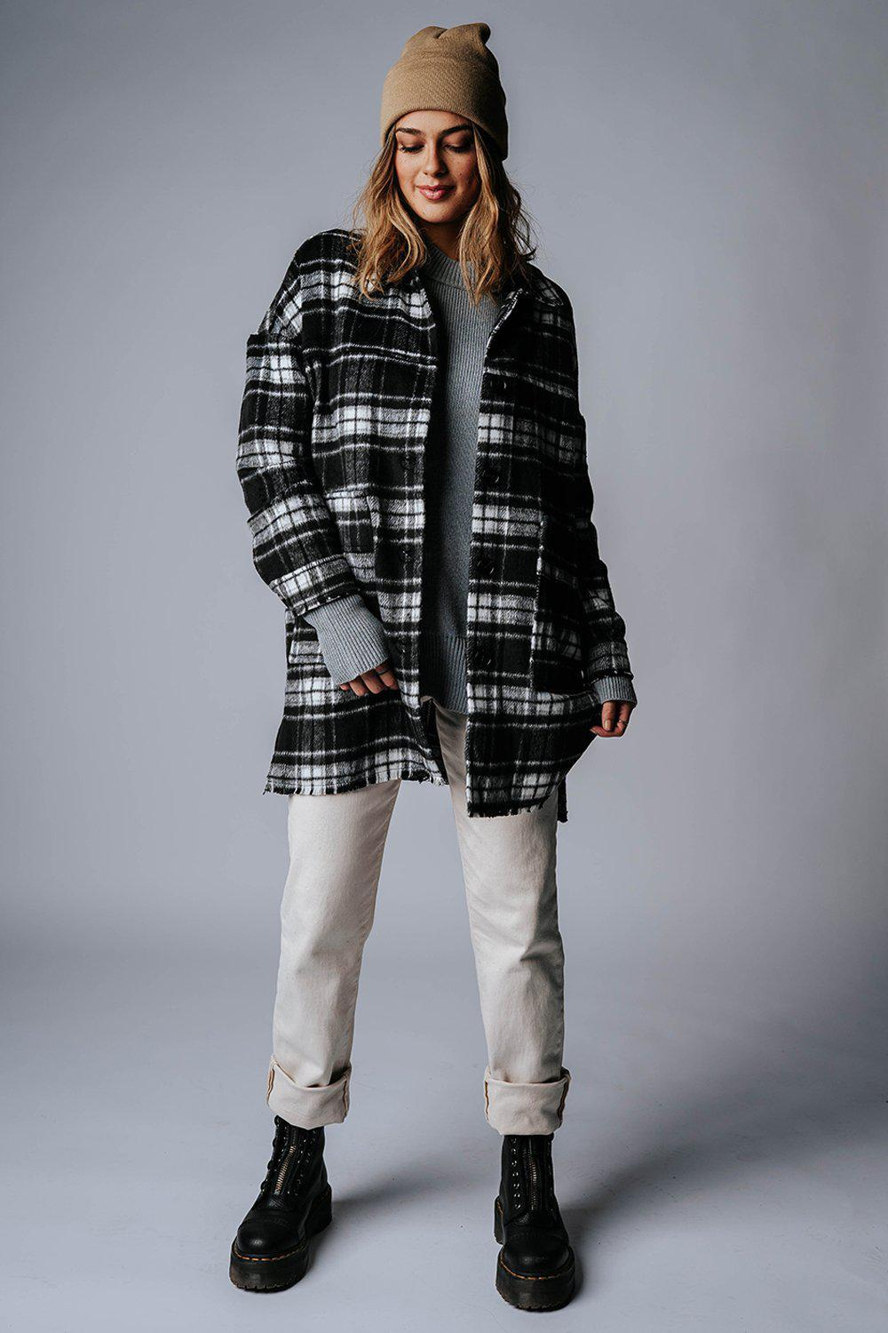 best_seller, In Early October Plaid Jacket, Top, women's clothing, dresses, skirts, coats, jackets, shoes, boots, tops, tee shirts, jeans, free people, levi's, rollas, jumpsuits, bottoms, tops, sweaters, pullovers, pants, shorts, sweats,.