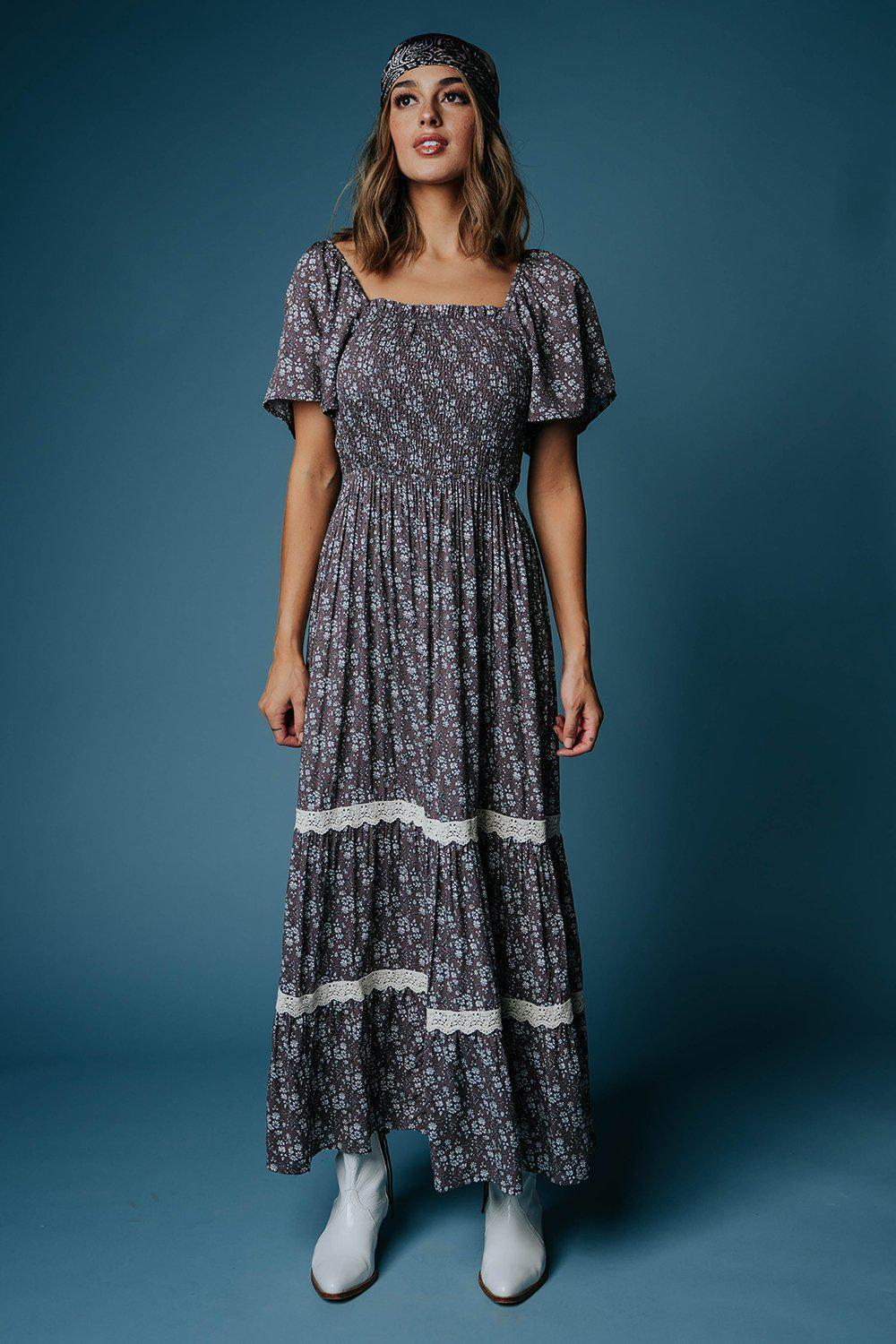 best_seller, In the Prairie Floral Maxi Dress - FINAL SALE, Dress, women's clothing, dresses, skirts, coats, jackets, shoes, boots, tops, tee shirts, jeans, free people, levi's, rollas, jumpsuits, bottoms, tops, sweaters, pullovers, pants, shorts, sweats,.