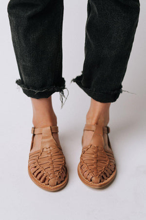 Lacey Flats in Natural - PREORDER, cladandcloth, Bird of Flight.
