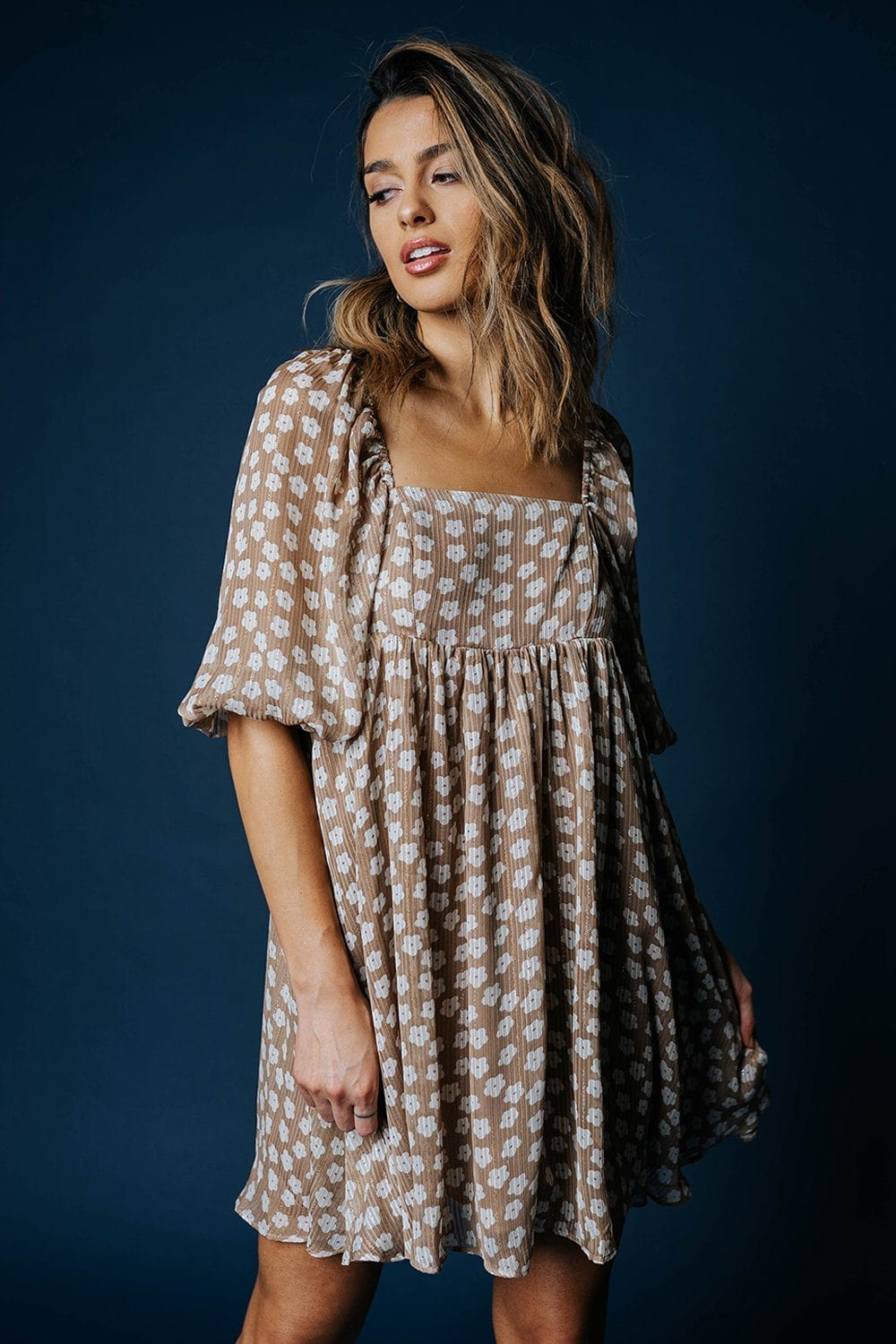 Lazy Daisy Dress-Dress-Storia-S-Clad & Cloth
