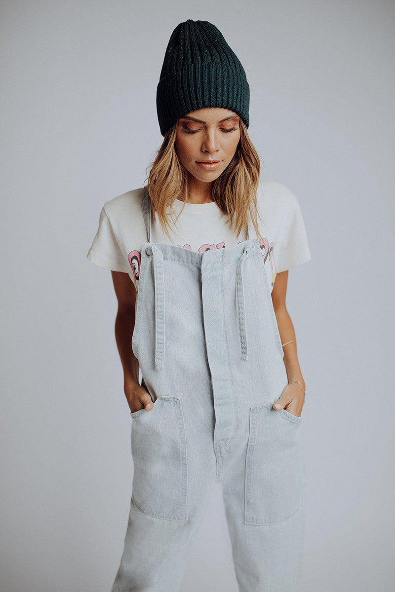 best_seller, Lean On Me Overall in Light Denim, Bottom, women's clothing, dresses, skirts, coats, jackets, shoes, boots, tops, tee shirts, jeans, free people, levi's, rollas, jumpsuits, bottoms, tops, sweaters, pullovers, pants, shorts, sweats,.