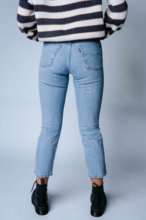 Levi's 501 Crop Tango Acid Jeans-Bottom-Levi's-24-Clad & Cloth
