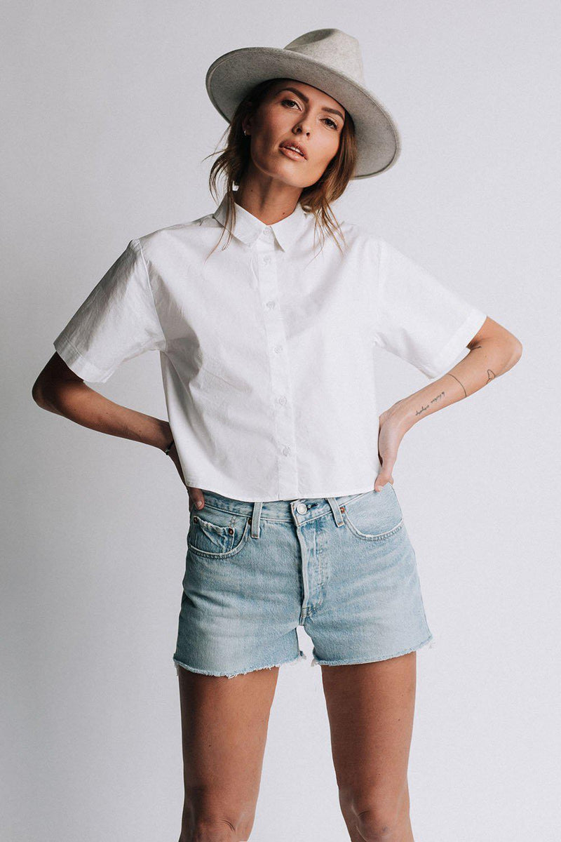 Clad and Cloth, Levi's 501 Original Jean Shorts Weak In The Knees, Levi's, Bottom.