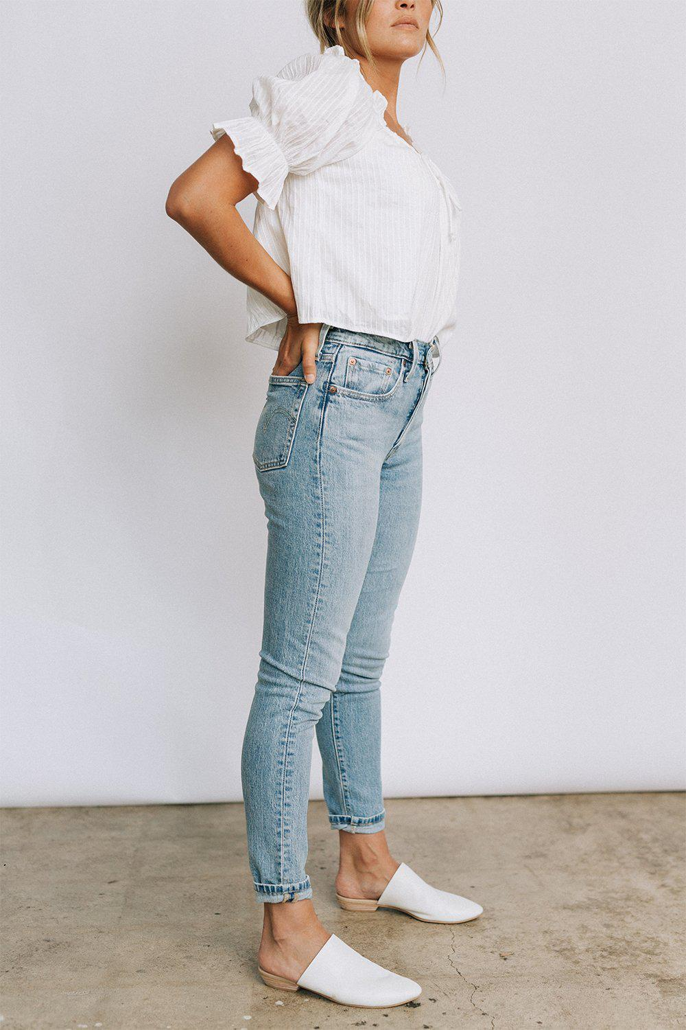 best_seller, Levi's 501 Skinny in Tango Light, Bottom, women's clothing, dresses, skirts, coats, jackets, shoes, boots, tops, tee shirts, jeans, free people, levi's, rollas, jumpsuits, bottoms, tops, sweaters, pullovers, pants, shorts, sweats,.