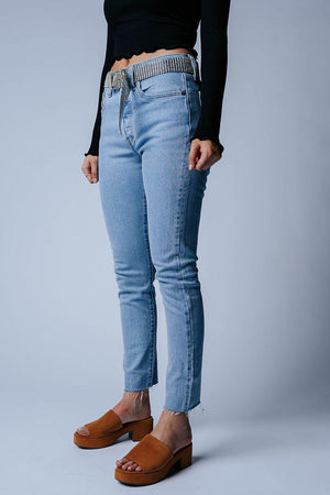 Clad and Cloth, Levi's 501 Skinny in Tango Talks, Levi's, Bottom.