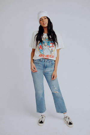 best_seller, Levi's Ribcage Straight Ankle in Tango Fade - FINAL SALE, Bottom, women's clothing, dresses, skirts, coats, jackets, shoes, boots, tops, tee shirts, jeans, free people, levi's, rollas, jumpsuits, bottoms, tops, sweaters, pullovers, pants, shorts, sweats,.