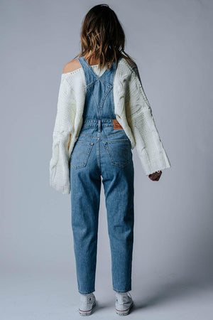 Levi's Tapered Overall in Crazy Blue, cladandcloth, n/a.