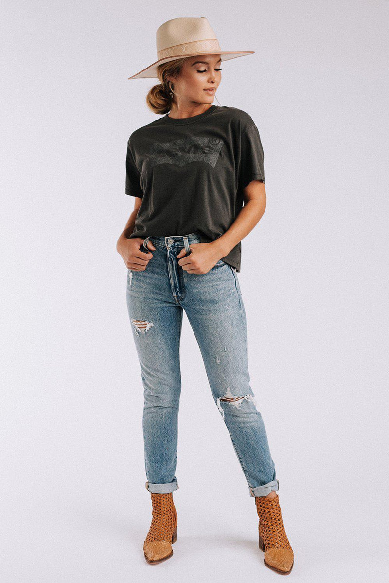 Clad and Cloth, Levis Wash Away Tee, Levi's, Top.