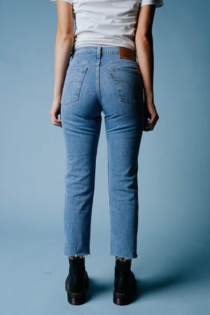 Clad and Cloth, Levi's Wedgie Straight in Tango Hustle, Levi's, Bottom.