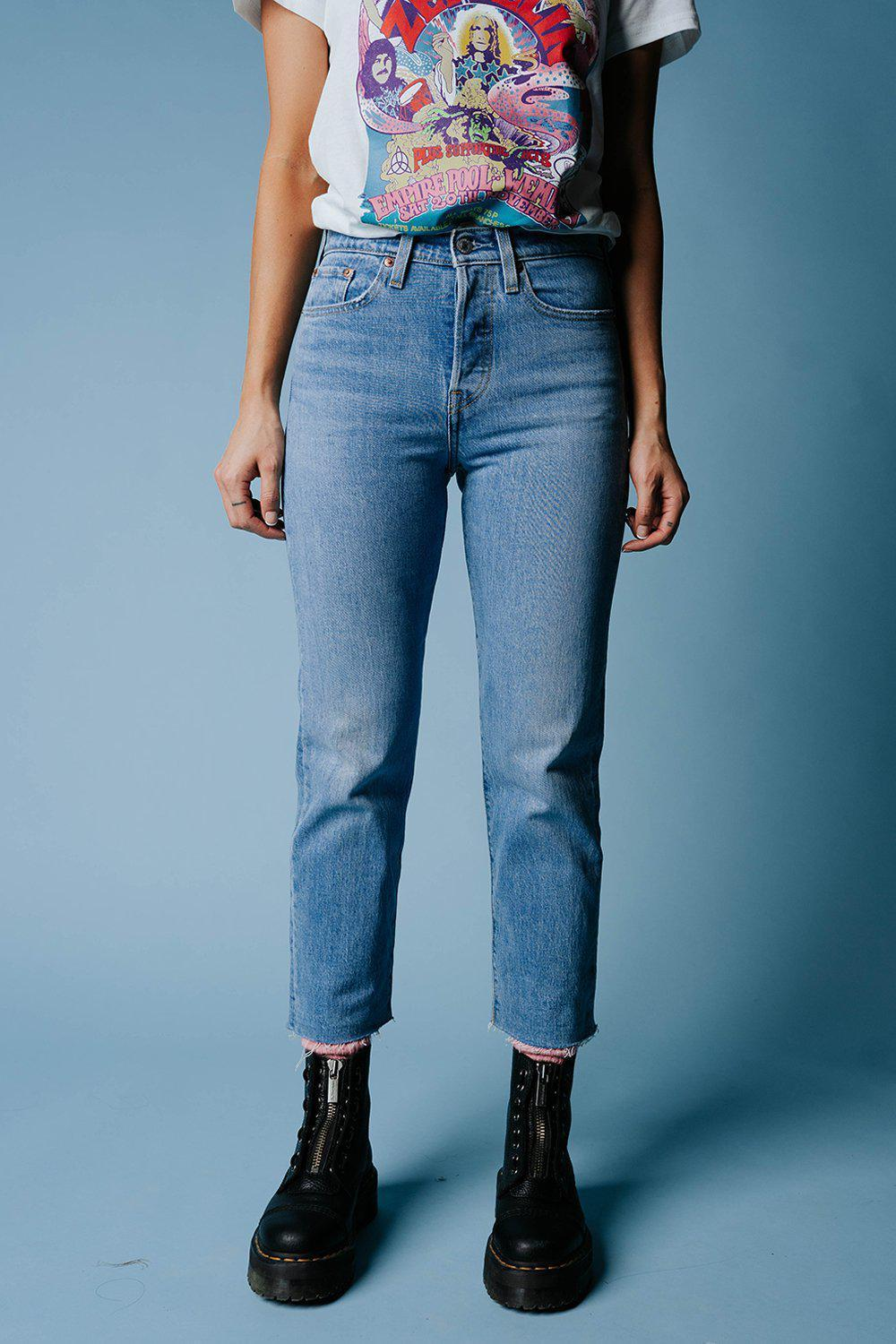 Levi's Wedgie Straight in Tango Hustle, cladandcloth, Levi's.