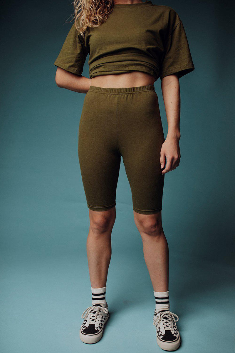best_seller, Look Alive Set in Olive - FINAL SALE, Set, women's clothing, dresses, skirts, coats, jackets, shoes, boots, tops, tee shirts, jeans, free people, levi's, rollas, jumpsuits, bottoms, tops, sweaters, pullovers, pants, shorts, sweats,.
