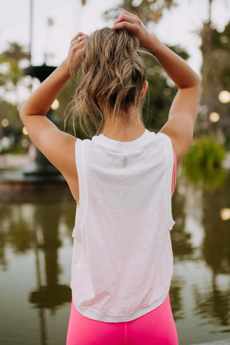 Free People Love Tank in White