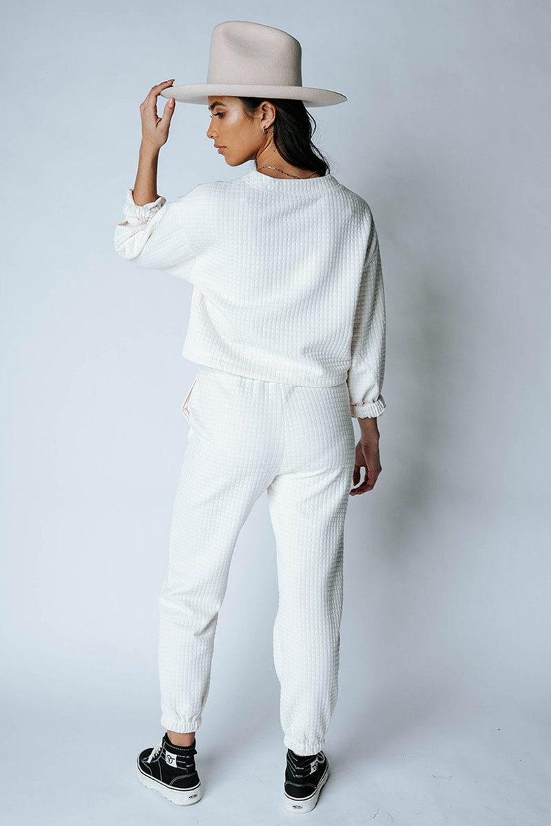 Margo Ribbed Pants-Bottom-Emory Park-S-Clad & Cloth