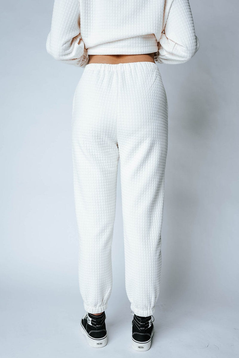 Margo Ribbed Pants, cladandcloth, Emory Park.
