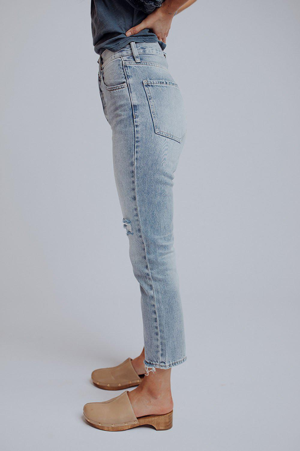 best_seller, Not Your Mom's High-Waisted Jeans in Light Denim, Bottom, women's clothing, dresses, skirts, coats, jackets, shoes, boots, tops, tee shirts, jeans, free people, levi's, rollas, jumpsuits, bottoms, tops, sweaters, pullovers, pants, shorts, sweats,.