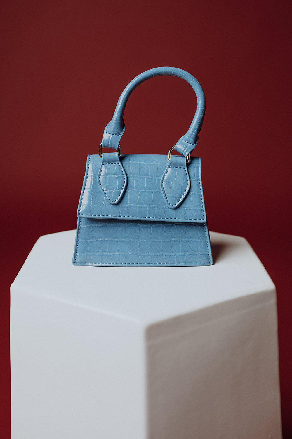 best_seller, On the Run Snakeskin Purse in Blue - FINAL SALE, Accessory, women's clothing, dresses, skirts, coats, jackets, shoes, boots, tops, tee shirts, jeans, free people, levi's, rollas, jumpsuits, bottoms, tops, sweaters, pullovers, pants, shorts, sweats,.