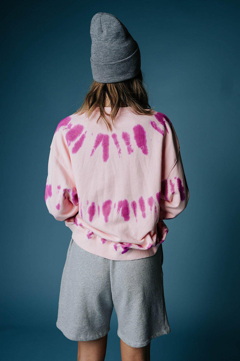 best_seller, Pink Sugar Tie Dye Pullover - FINAL SALE, Top, women's clothing, dresses, skirts, coats, jackets, shoes, boots, tops, tee shirts, jeans, free people, levi's, rollas, jumpsuits, bottoms, tops, sweaters, pullovers, pants, shorts, sweats,.
