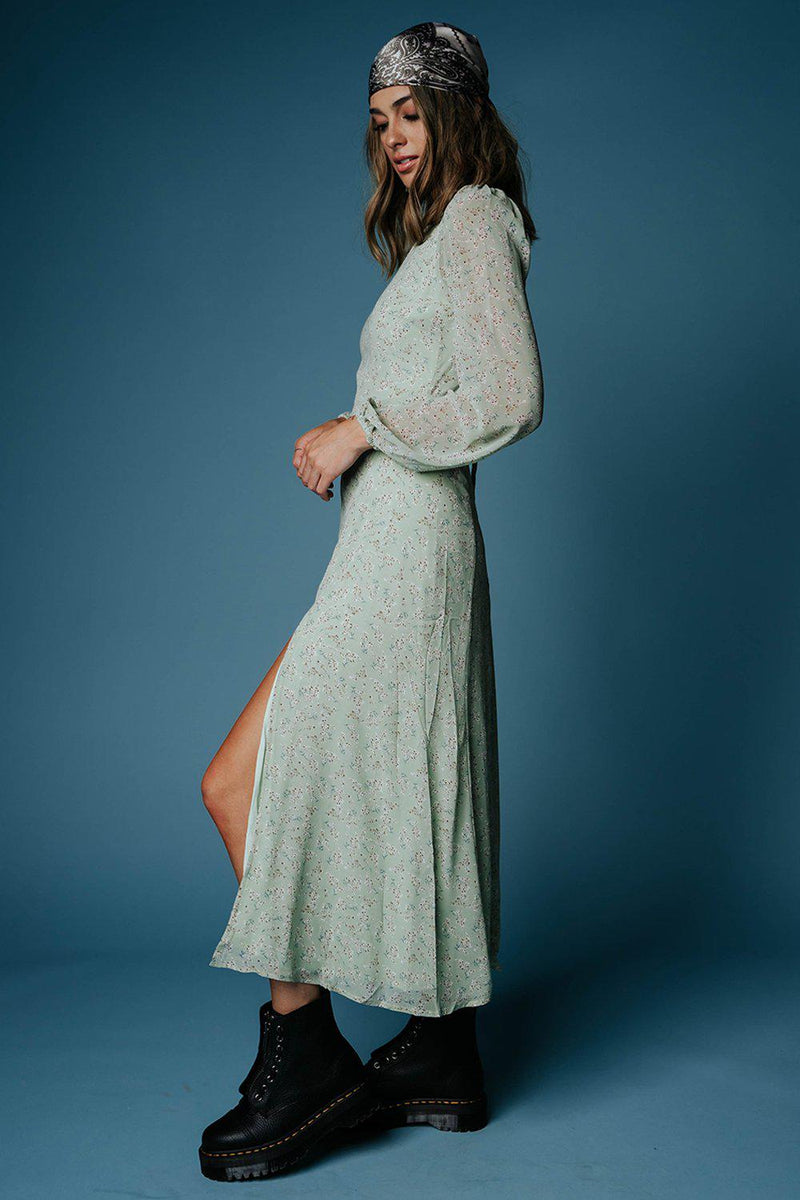 best_seller, Que C'est Beau Floral Maxi Dress - FINAL SALE, Dress, women's clothing, dresses, skirts, coats, jackets, shoes, boots, tops, tee shirts, jeans, free people, levi's, rollas, jumpsuits, bottoms, tops, sweaters, pullovers, pants, shorts, sweats,.
